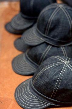 20357f53946 Machinist Field Caps Denim Hat