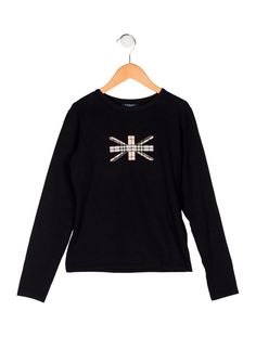 83aebb5b3d5 Burberry London Nova Check Knit Top - Clothing - WBURL40589   The RealReal