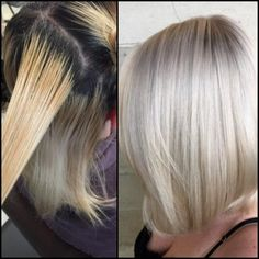 Cory Hoffman(@coryhoffmanhair) of Butterfly Loft Salon, Encino, CA., is a Matrix Artistic Educator and Matrix Certified Color Master. When we saw this transformation we contacted Hoffman and asked for details: