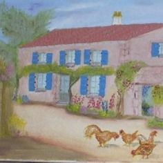 tableau la charrette foin tir e par les chevaux tableaux peintures pinterest. Black Bedroom Furniture Sets. Home Design Ideas