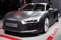 Audi R8_Geneva International Motor Show 2015 #Audi #Audi_R8 #Geneva_2015 | See more about Audi, Audi R8 and Audi R8 V10.