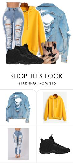 """""""Untitled #2445"""" by kayla77johnson ❤ liked on Polyvore featuring High Heels Suicide, !iT Collective and NIKE"""