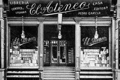 The old El Ateneo bookstore. the current store is one of the largest in the… Old Pictures, Old Photos, Libreria El Ateneo, Cafe Concept, Neoclassical Architecture, Argentine, Centenario, Wonders Of The World, Exterior Design