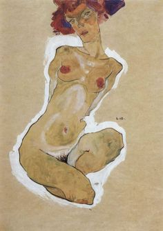Egon Schiele Red Head 2 | by griffinlb
