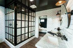 Shower door!