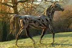 skulpturen aus holz für den garten - Google-Suche