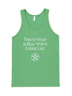 This is What a Real Witch Looks Like - Tank Tops in assorted colors