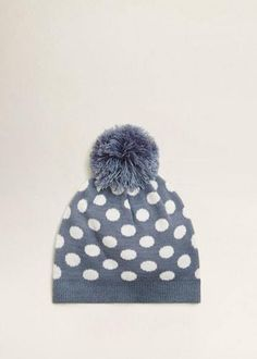 de32f23f660 NEW MANGO POM POM POLKA DOTS BEANIE  fashion  clothing  shoes  accessories   kidsclothingshoesaccs  girlsaccessories (ebay link)