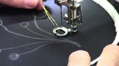 Free Motion Machine Embroidery - Part 1 - with Christopher Nejman-  Great info.  Be sure and check out his other videos.