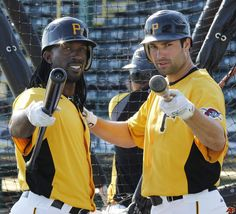 Neil Walker and Andrew McCutchen!! Ahh so excited for baseball season!