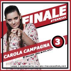 #CarolaCampagna #TeamLoser #TVOI #FINALE