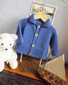 Seamless Top Down Cardigan – Knitting pattern by OGE Knitwear Designs – Stricken