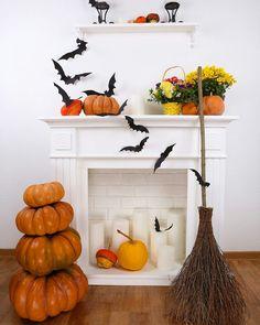 Halloween Garland, Fall Halloween, Halloween Decorations, Halloween Stuff, Pumpkin Carving, Pumpkin Spice, Pumpkin Moon, Fall Decor, Holiday Decor