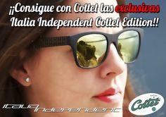 Consigue unas EXCLUSIVAS gafas de sol Italia Independent Cottet Edition