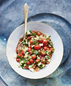 Pico de gallo is a fresh salsa deployed all over Mexico: raw onion and tomato with cilantro, serrano peppers, lime juice and salt. The San Antonio chef Quealy Watson uses the Vietnamese cilantro known as rau ram as an additional ingredient, along with fish sauce, which gives the salsa an earthy, flavorful bounce. (Photo: Peden & Munk for The New York Times)