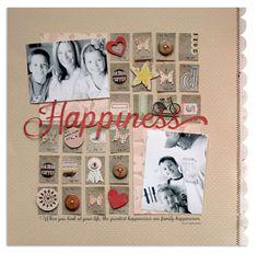 Layout: happiness{jenni bowlin march kit}