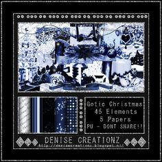 Scrapkit Gotic Christmas