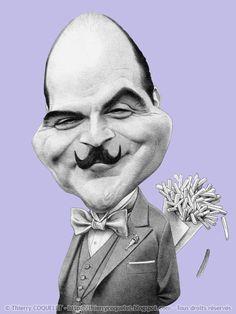 David Suchet - Hercule Poirot