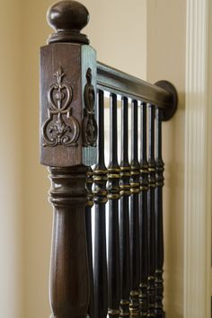 Beautiful detailing of the stair rail at 12 Harbour Town Court in Frisco, TX http://www.briggsfreeman.com/search/property-details.asp?pn=21393