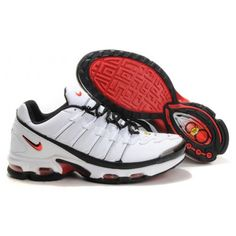 new product 26e36 be9ab Hommes Nike Air Max TN8 Blanc Noir Rouge88,98€