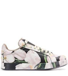 mytheresa.com - Printed leather sneakers - Luxury Fashion for Women / Designer clothing, shoes, bags
