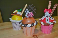 El taller de Tit: Cupcakes amb Goma Eva
