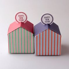 House gift box 10 set -Color top