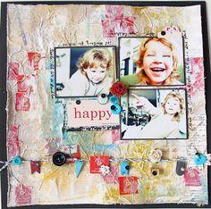 Maria Schmidt Scrap-Art-Design Schmidt, Scrap, Layouts, Frame, Happy, Design, Home Decor, Art, Picture Frame
