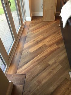 Karndean flooring Van Gogh classic oak flooring laid with boarder and a 45 degree angle patten Karndean flooring Van Gogh classic oak flooring laid with boarder and a 45 degree angle patten Alice Micklethwaite alimicklethwait nbsp hellip Flooring Kardean Flooring, Vinyl Plank Flooring, Living Room Flooring, Wooden Flooring, Kitchen Flooring, Hardwood Floors, Karndean Vinyl Flooring, Wood Floor Design, Wood Floor Pattern