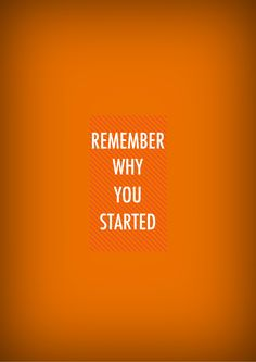 Orange motivation