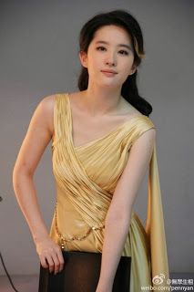 Pictures of Liu Yi Fei for China Gold 2013 I Found as of September 25, 2013   Sean Akizuki's Favorite East Asian Celebrities