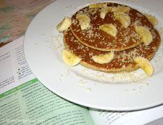 Oatmeal-Lemon Pancakes