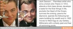 After we saw Gatsby, I told Nick I was going to write a meme about Jack Dawson being Gatsby...someone beat me to it!