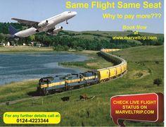 CHECK LIVE FLIGHT STATUS on http://www.marveltrip.com/