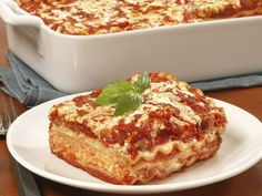 Looking for an easy lasagna recipe? Try Barilla's Three Layer Lasagna with ricotta and meat sauce for an easy to make meal that the whole family will love.