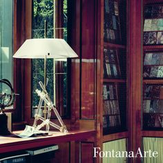 Extremely elegant, FontanaArte Ashanghai Table Lamp has fixing points in chrome-plated brass. #FontanaArte #tablelamp #MaxIngrand Available at allmodernoutlet.com  http://www.allmodernoutlet.com/fontanaarte-ashanghai-table-lamp/
