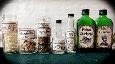 Potter Frenchy Party - potions - Harry Potter DIY - halloween decoration - Poudlard - Hogwarts