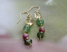 Sapphire Earrings, Gemstone Earrings, Women's Earrings, Sterling Silver Earrings, Unique Earrings, Beautiful Earrings, Earrings Handmade, Handmade Jewelry, Bohemian Jewelry