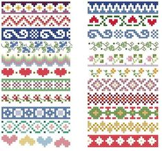 Thrilling Designing Your Own Cross Stitch Embroidery Patterns Ideas. Exhilarating Designing Your Own Cross Stitch Embroidery Patterns Ideas. Cross Stitch Boarders, Cross Stitch Flowers, Cross Stitch Designs, Cross Stitch Charts, Cross Stitching, Cross Stitch Embroidery, Cross Stitch Patterns, Bead Loom Patterns, Beading Patterns