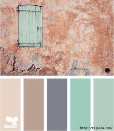 Design-seeds dot com - Color Pallets bedroom. Colour Pallette, Color Palate, Colour Schemes, Color Combos, Design Seeds, Pantone, Color Swatches, Color Theory, House Colors