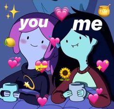 New Memes Crush Love Ideas Cartoon Memes, Cartoon Pics, Cartoons, New Memes, Funny Memes, Flipagram Instagram, Memes Amor, Memes Lindos, Marceline And Bubblegum