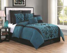 Casandra 8 Piece Comforter Set