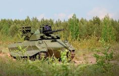 Russian Uran-9 unmanned combat ground vehicle