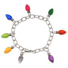 Christmas Tree Lights Bracelet   Beadaholique