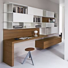 Home Office Designs - Home offices are now a norm to modern homes. Here are some brilliant home office design ideas to help you get started. Home Office Design, Home Office Decor, Office Ideas, Home Decor, Office Designs, Office Style, Study Table Designs, Study Design, Bureau Design