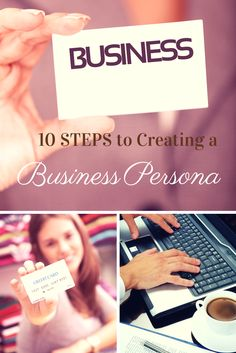 10 Steps to Creating a Business Persona Ready for Any Opportunity http://www.entrepreneur.com/article/232959