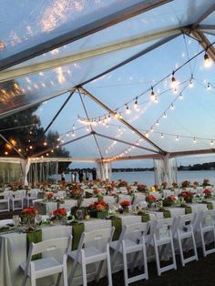 A gorgeous event at The Hermitage Museum and Gardens.  Hampton Roads Wedding Guide adores the tent!