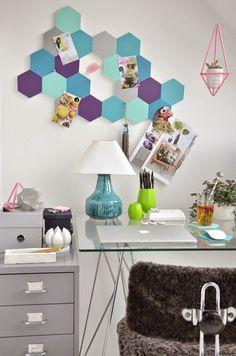 Haz un tablero para oficina en foami ~ Solountip.com