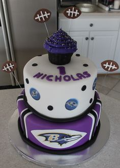 Ravens Birthday Cake Ideas