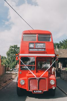 Bus Routemaster Sweet Village Fete Wedding http://www.tohave-toholdphotography.co.uk/